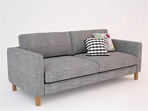 Sofa Füße Ikea : 3d ikea karlstad sofa seat ~ Bigdaddyawards.com Haus und Dekorationen