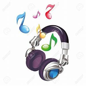 Headphone clipart music note - Pencil and in color ...