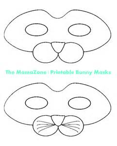 Free Printable Bunny Rabbit Mask
