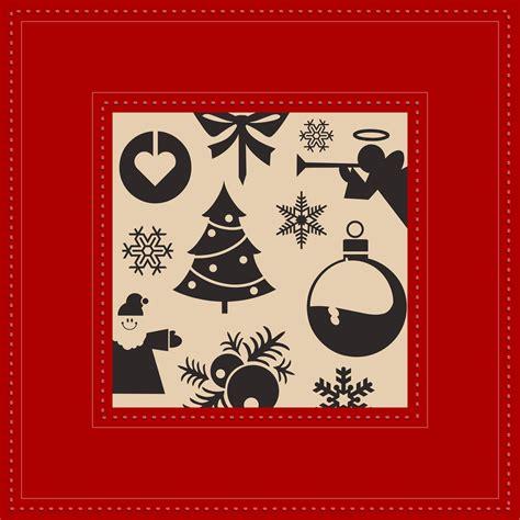 christmas postcard   vectors clipart