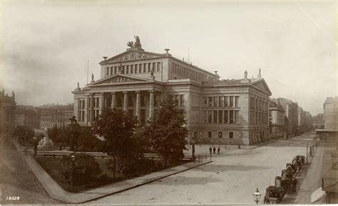 Vintage Berlin Mitte by Francis Frith Berlin Mitte Gendarmenmarkt Schauspielhaus