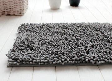 tapis salle de bain chenille gris 9 90