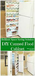 Brilliant Space-Saving Solution – DIY Canned Food Cabinet ...