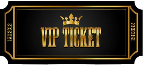 vip ticket png transparent vip ticketpng images pluspng
