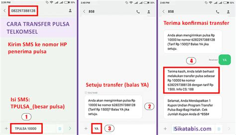 3 cara transfer pulsa telkomsel simpati as loop sikatabis