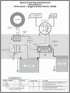 6 Prong Briggs Ignition Switch Wiring Diagram