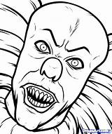 Coloring Monster Creepy Scary Printable Getcolorings sketch template