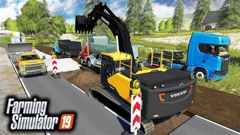 fixing road  farming simulator   mods