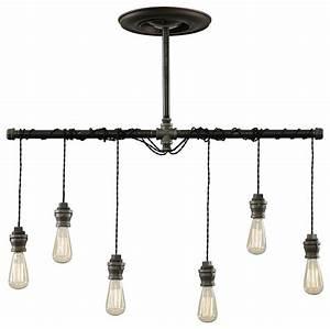 Industrial pendant chandelier chandeliers