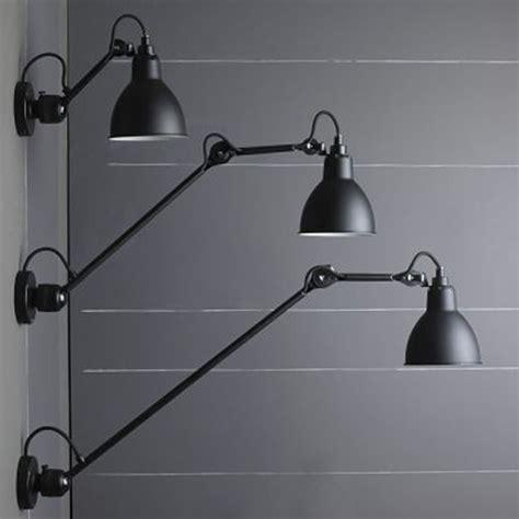 Wandleuchte/deckenlampe N° 304 Mit Gelenkarm 40/60 Cm