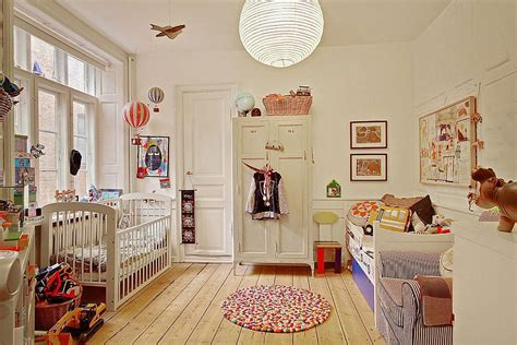 study  scandinavian style charming modern apartment