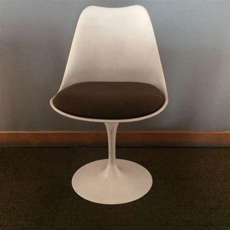 chaise tulip chaise tulip vintage design eero saarinen pour knoll