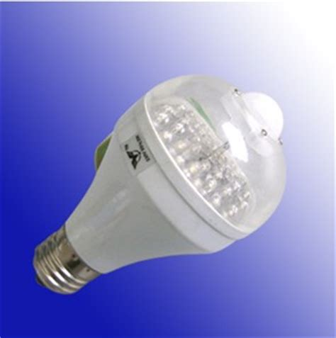 infrared led bulb sensor light dusk automatically