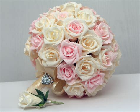 Wedding Bouquet Paper Wedding Bouquet Bridal Bouquet