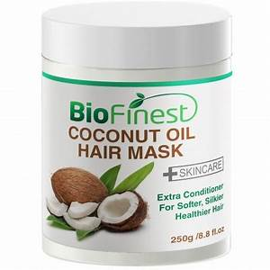 Coconut Oil Hair Mask With 100 Organic Shea Butter