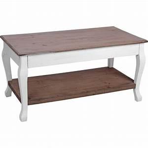 Beistelltisch Holz Weiß : beistelltisch 46x46x90cm wei braun holz pflanztisch holztisch salontisch ~ Indierocktalk.com Haus und Dekorationen