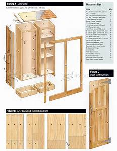Small Shed Plans • WoodArchivist