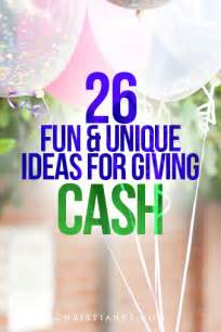 Unique Ways to Give Money as a Gift