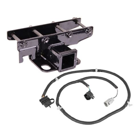 Jeep Trailer Wiring Harnes 2000 by Rugged Ridge 11580 51 Receiver Hitch Kit With Wiring