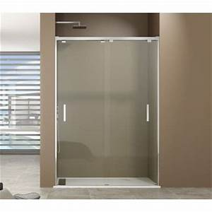 paroi de douche portes coulissantes dual robinet and co With porte d entrée alu avec solde meuble de salle de bain double vasque
