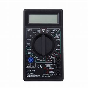 Dt830b Lcd Digital Multimeter Voltmeter Ammeter Ohmmeter