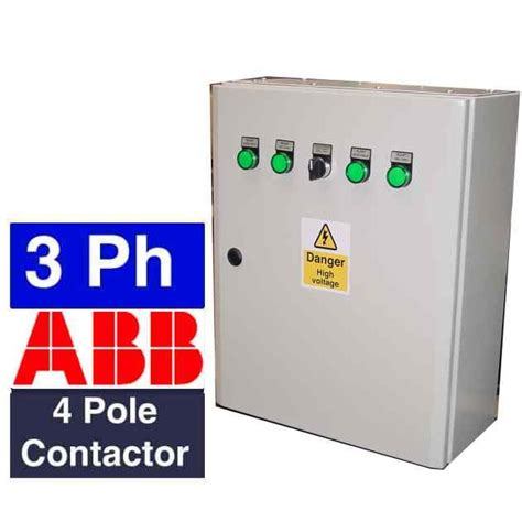 3 phase generator ats panel with uvr system and