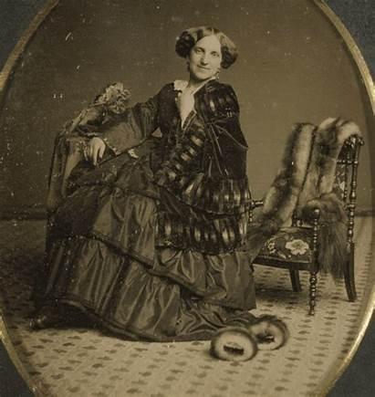 Daguerreotype Stereoscopic Victorian Portrait Woman 3d Animated