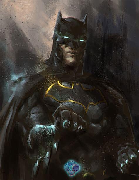 "Artstation  Injustice Rebirth Batman, Nthinila ""conz"