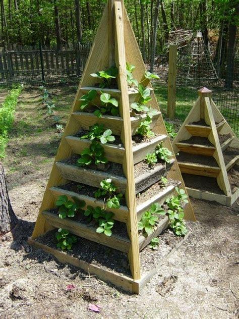 strawberry pyramid planter  owner builder network