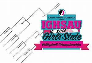 Iowa High School State Volleyball Tournament Pairings