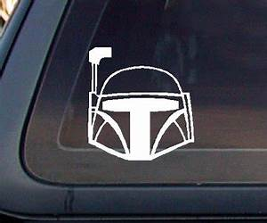 car window decal shopswell With kitchen colors with white cabinets with boba fett sticker