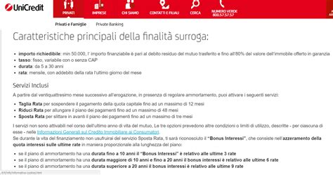 Unicredit Mutuo Prima Casa by Surroga Mutuo Unicredit Conviene La Rinegoziazione Mutuo