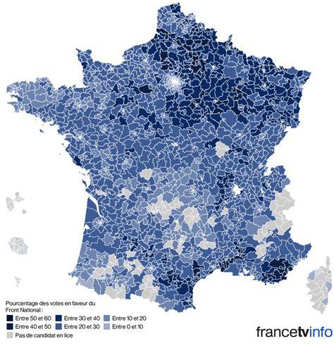 si鑒e du fn carte départementales découvrez les scores du fn canton par canton