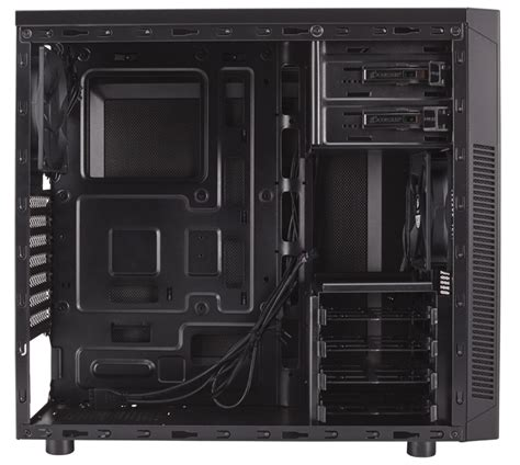 Blackout Pre Wiring by Corsair Carbide Series 174 100r Silent Edition Mid Tower