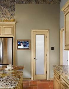 kitchen details in wall tv glass pantry door With kitchen cabinets lowes with telegram stickers love