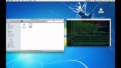 Running Minecraft Server On Mac Os X 10.6.8 W/ Minecraft 1