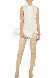 Paul Joe : paul joe metallic jacquard pants in gold silver lyst ~ Orissabook.com Haus und Dekorationen