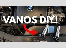 BMW Vanos Solenoids DIY! YouTube