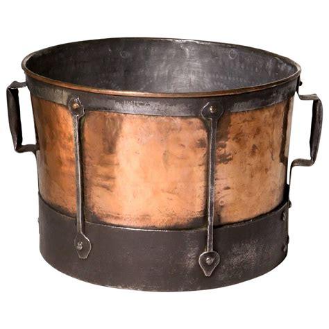 french copper cauldron  sale  stdibs
