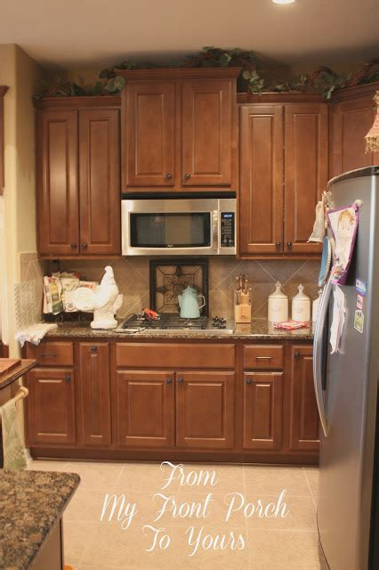 Creating a French Country Kitchen Cabinet Finish Using