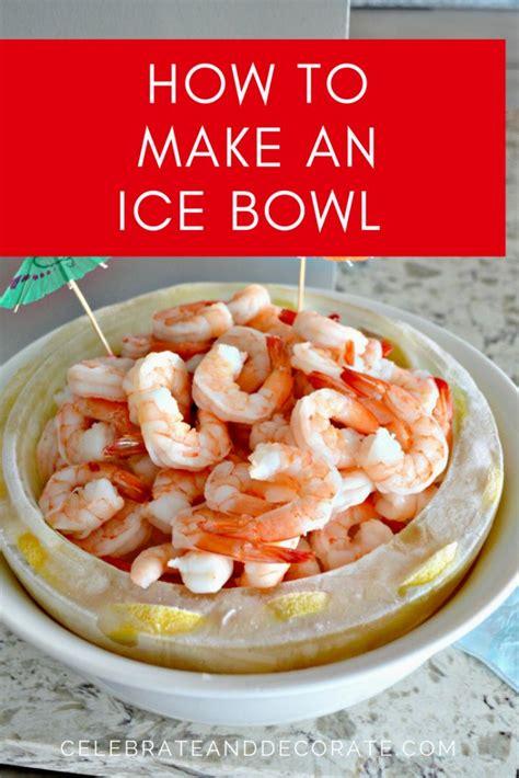 ice bowl  shrimp cocktail shrimp
