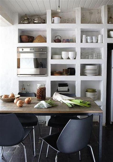 kitchen drawers vs cabinets ventajas de las estanter 237 as abiertas en cocinas 4735