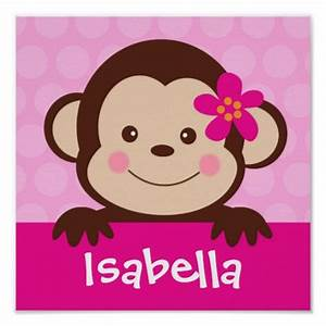 Baby Girl Monkey Clipart - Clipart Suggest
