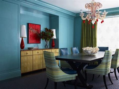 Aqua Colored Home Decor: Color Scheme: Turquoise And Red