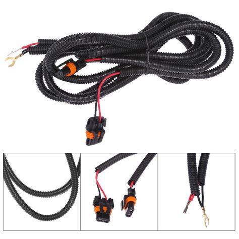 For Chevy Silverado Fog Light Wiring Harness Kit