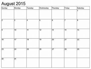 Calendar Grid Printable Calendar 8 X 11 Free Calendar Template
