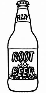 Beer Coloring Bottle Root Pages Drawing Soda Clip Bottles Cola Coca Rootbeer Clipart Alcohol Print Abcteach Printable Baby Bw Button sketch template