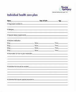 9 healthcare plan templates free sample example free With individual health care plan template