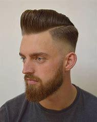 Short Pompadour Hairstyle Men