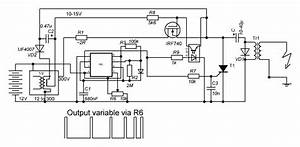 Electric Fence Energizer Circuit Diagram 12v